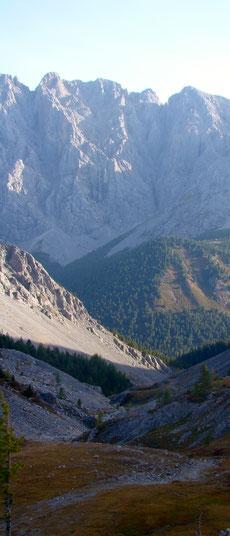 Passage de col monts à l'ouest du Khovsgol