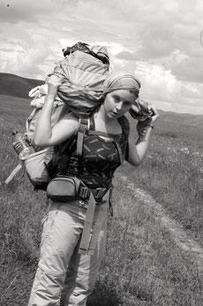 En indépendant, en autonome avec son sac a dos