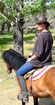 Sur sa monture en Mongolie