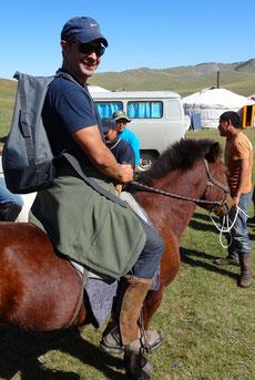 Prise en main à cheval trek Mongolie