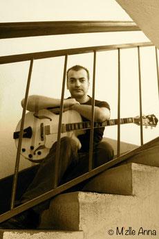 Raphaël Carré en compagnie de sa Libannaise © M'Zlle Anna, photographe