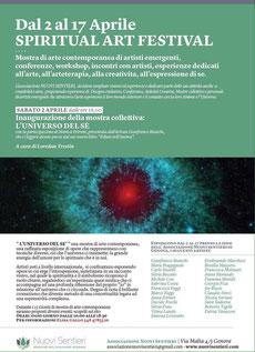 Mostra collettiva presso associazione culturale NUOVI SENTIERI di Genova