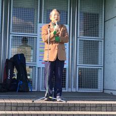 開会あいさつ 岐阜県ホッケー協会 喜久生明男会長
