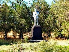 памятник Ленину в сквере у ДК