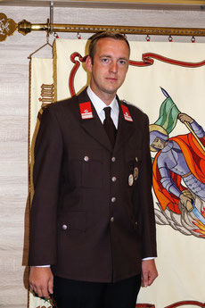 Zugskommandant BM Thomas Lentner