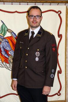 Zugskommandant OV Gerold Lentner