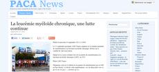PACA NEWS course contre leucémie myéloïde chronique lmc france
