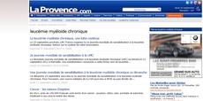 LA PROVENCE.COM course contre leucémie myéloïde chronique lmc france