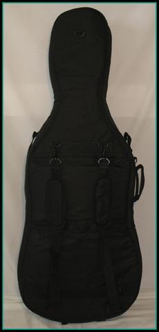 Housse cello noire dos