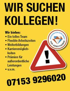 Ihr Elektriker aus Wernau sucht Mitarbeiter