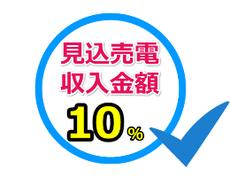 見込売電収入金額10%