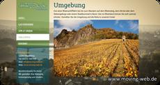 Webdesign für Hotel und Restaurant von der Firma moving web aus Wachtberg