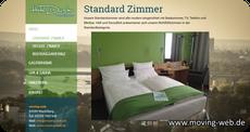 Musterwebseite für ein Hotel mit Restaurant von der Firma www.moving-web.de