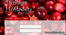 Webdesign für Hofladen von der Firma moving web aus Wachtberg