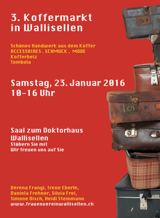 3. Koffermarkt in Wallisellen 23.01.2016