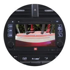 INTEGRATED BACKUP CAMERA