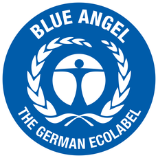 German Blue Angel Label