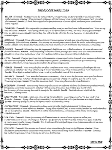 Taroscope du mois de Mars 2019 par Stelline Voyance