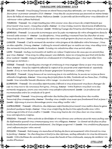 Taroscope de Décembre 2018 par Stelline Voyance