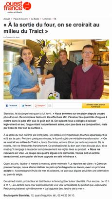 la baguette aux algues (suite), ouest-france du samedi 5 avril 2014