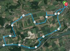 Strecke Wiedlisbacher Waffenlauf