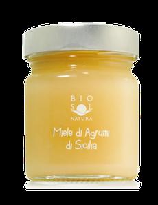 Sizilianischer Orangenhonig BIO 300g Miele di arancio di Sicilia BIO 300g - biosolnatura
