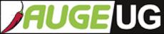 Logo AUGE UG mit Pfefferoni