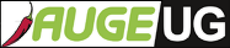 Logo der AUGE UG mit Pfefferoni