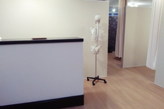 鍼灸整骨院鶴の施術室