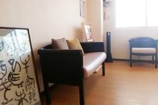 鍼灸整骨院鶴の待合室