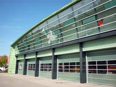 Fischer Metallbau GmbH Schrägfassade in Stahl