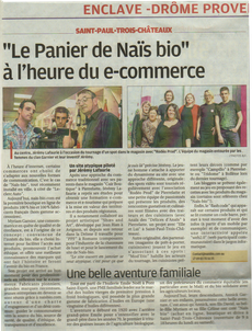 La provence parution presse e-commerce