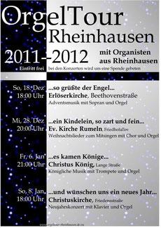 OrgelTour Rheinhausen 2012
