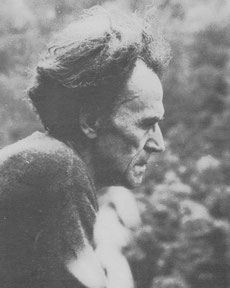 "Paul Thalmann, landkommunen ""Serena"" i Provence,  1977"