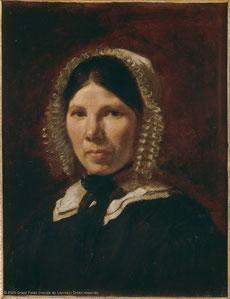 《ジェニー・ル・ギィユーの肖像》1835年