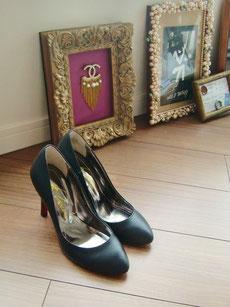 シンデレラの靴のように飾られており・・