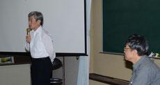 「ご対談」中の今井先生と佐藤先生
