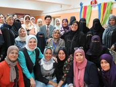 エジプト保育士研修時の集合写真