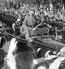 Adolf HITLER - Chancelier du Reich.