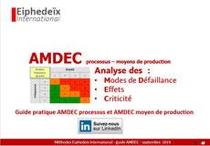 Outils d'amélioration continue par les risques, AMDEC.