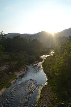 Río en Girón