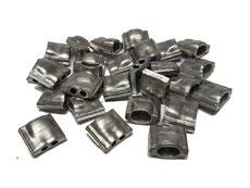 Scellés en aluminium 10x10 mm
