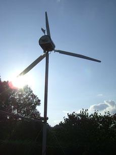 Mein Eigenbau-Windgenerator
