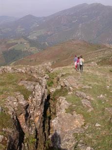Promenade archéologique sur le site des mines de Larla dans les Pyrénées