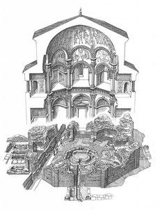 OmoGirando il Battistero di San Giovanni alle Fonti