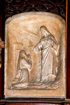 Apparition de Notre-Seigneur à la Bienheureuse Marie Alacoque