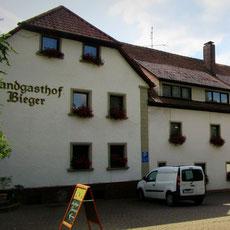 Ein Ausflug in die Vergangenheit des Landgasthofes Bieger in der Fränkischen Schweiz.- Ebermannstadt.