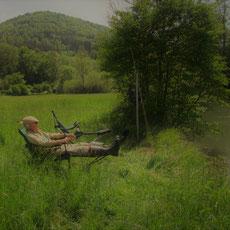 Das Verwöhnprogramm für Fliegenfischer an der fränkischen Wiesent im Landgasthof Bieger in der Fränkischen Schweiz.
