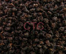 CTC 製法で作った茶葉の例