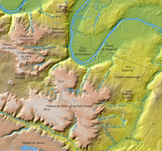 Relief du plateau de Vélizy